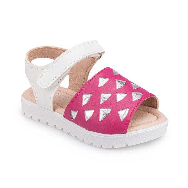 Polaris 91.511047.B Fuşya Kız Çocuk Sandalet