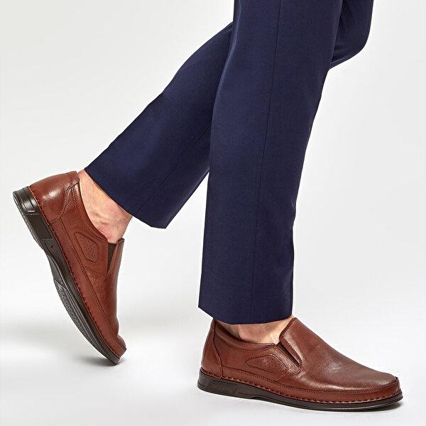 Polaris 5 Nokta 91.100552.M Taba Erkek Comfort Ayakkabı