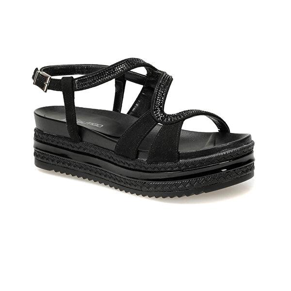 Butigo 19S-382 Siyah Kadın Sandalet