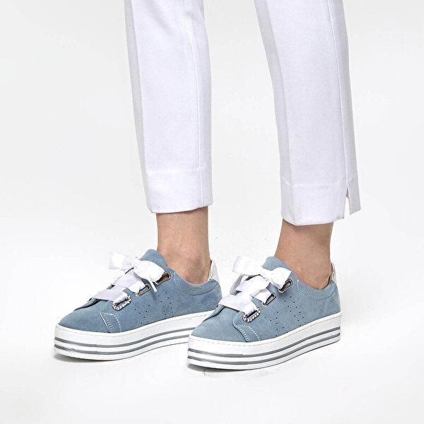Butigo 19S-150 Mavi Kadın Sneaker Ayakkabı