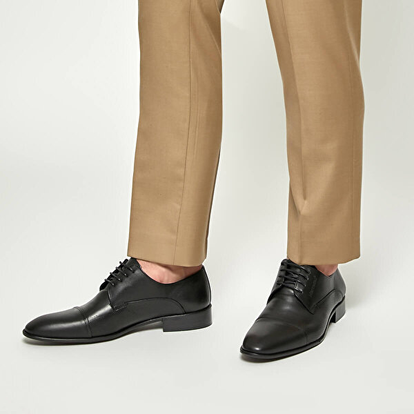 Mercedes SOLOMON Siyah Erkek Ayakkabı
