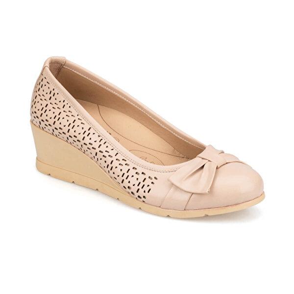 Polaris 5 Nokta 91.100655.Z Bej Kadın Ayakkabı