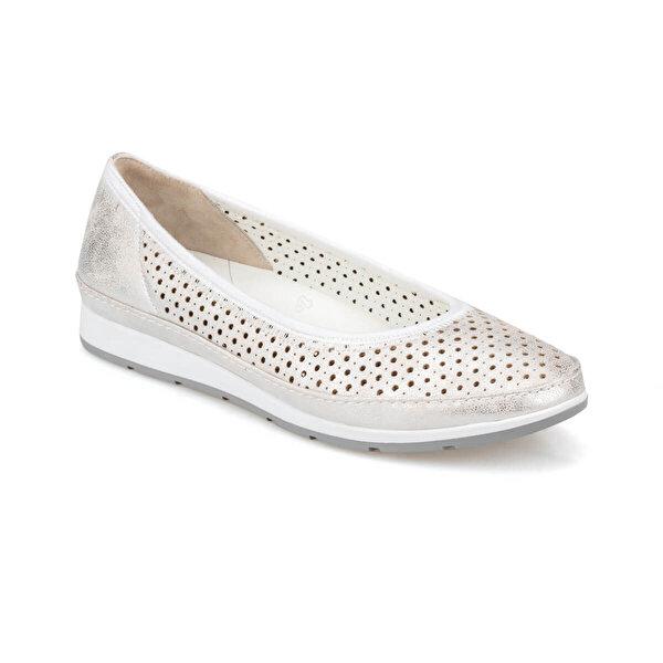 Polaris 5 Nokta 91.100689.Z Gümüş Kadın Ayakkabı
