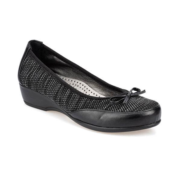 Polaris 91.150667.Z Siyah Kadın Ayakkabı