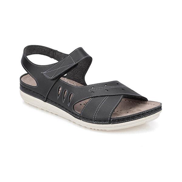 Polaris 91.150769.Z Siyah Kadın Sandalet