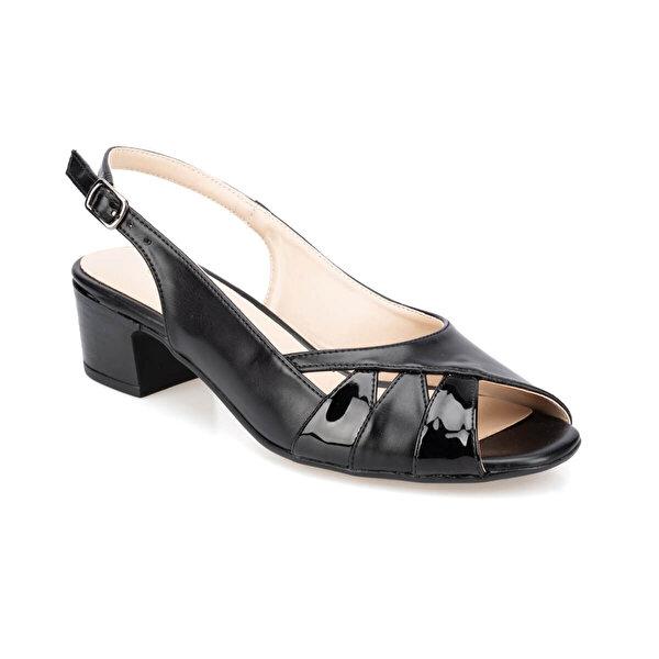Polaris 91.150801.Z Siyah Kadın Sandalet
