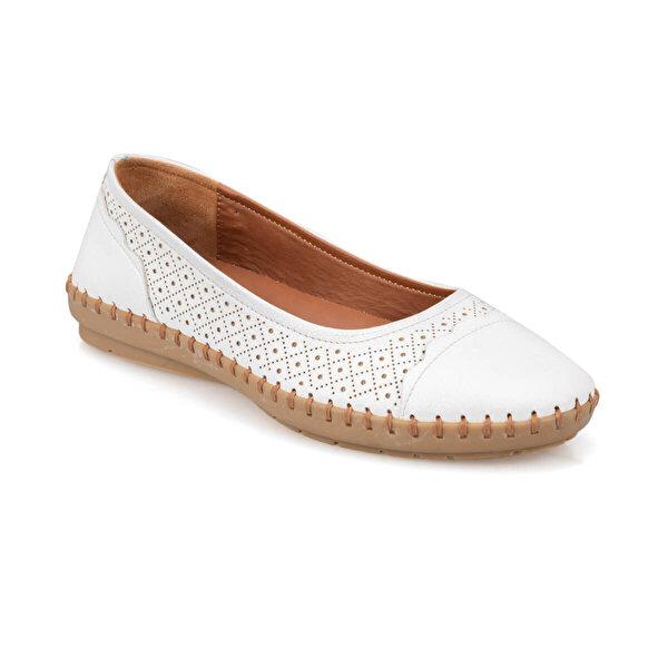 Polaris 91.100776.Z Beyaz Kadın Ayakkabı