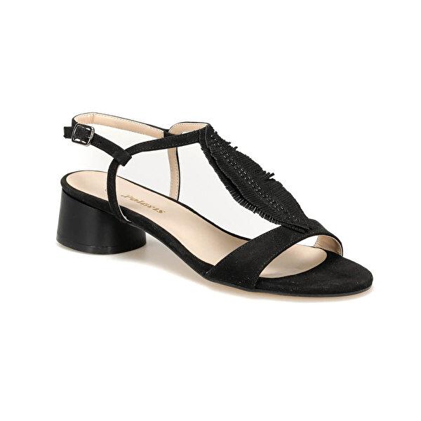 Polaris 91.313189.Z Siyah Kadın Sandalet