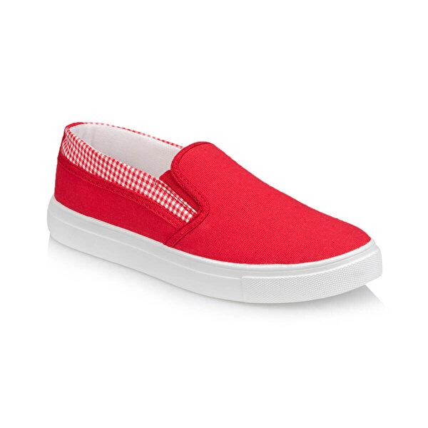 Polaris 91.313434.Z Kırmızı Kadın Slip On Ayakkabı