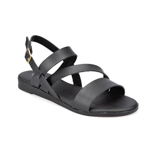 Polaris 91.313299.Z Siyah Kadın Sandalet