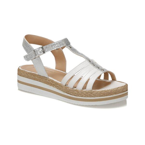 Polaris 91.313550.Z Beyaz Kadın Sandalet