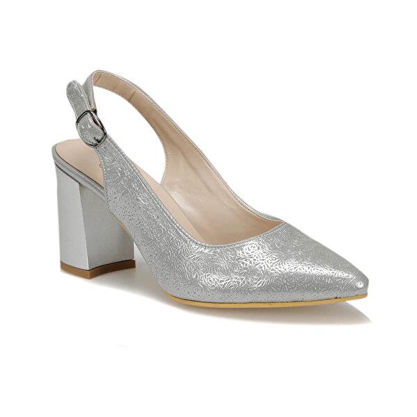 Polaris 91.313117DZ Gümüş Kadın Topuklu Ayakkabı