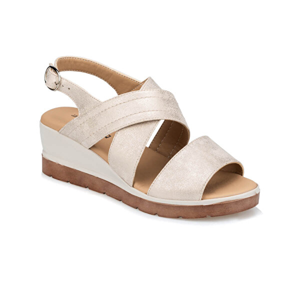 polaris TRV910042 Altın Kadın Sandalet