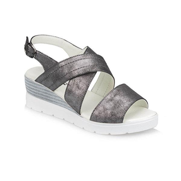 Polaris TRV910042 Antrasit Kadın Sandalet