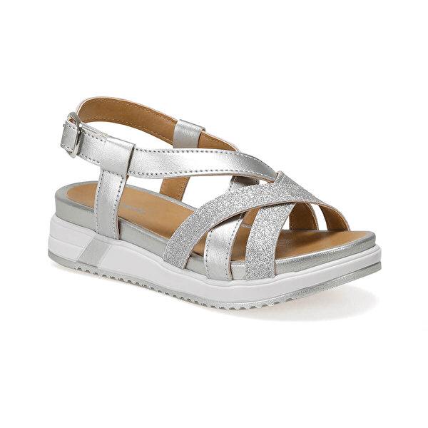 Polaris 91.510201.F Gümüş Kız Çocuk Sandalet