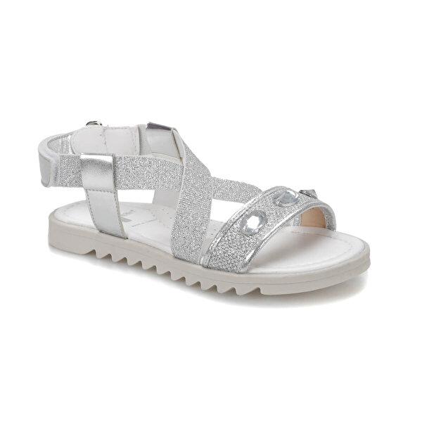 Seventeen BANKO Gümüş Kız Çocuk Sandalet