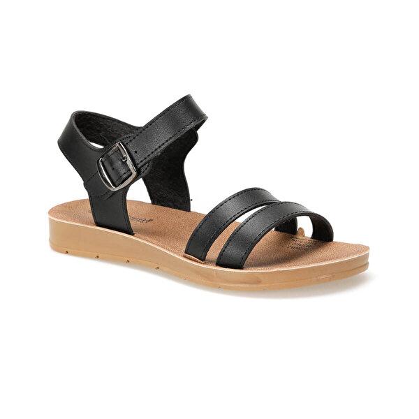 Polaris 91.158659.Z Siyah Kadın Sandalet
