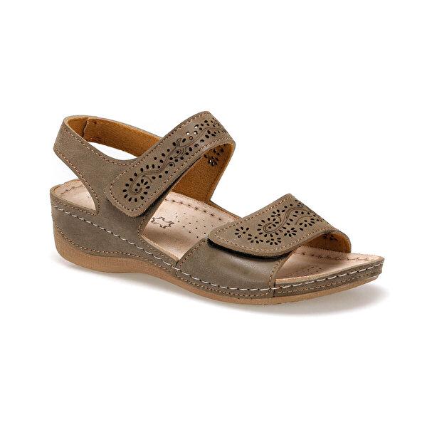 Polaris 91.157359.Z Kum Rengi Kadın Sandalet