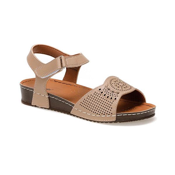 Polaris 91.157373.Z Taupe Kadın Sandalet