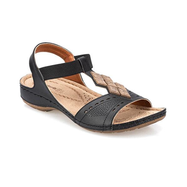 polaris 91.157364.Z Siyah Kadın Sandalet