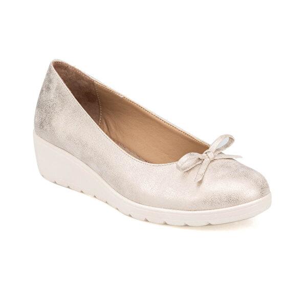 Polaris 91.150721.Z Altın Kadın Ayakkabı