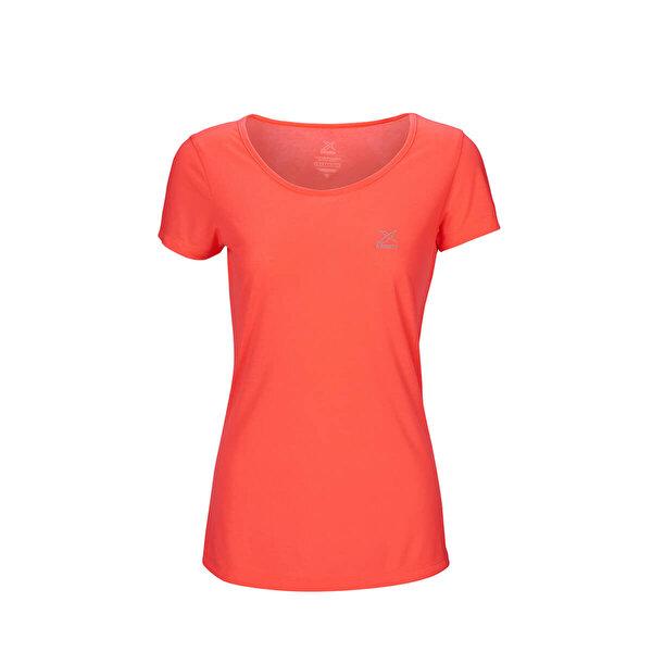 Kinetix BASIC T-SHIRT Mercan Kadın T-Shirt