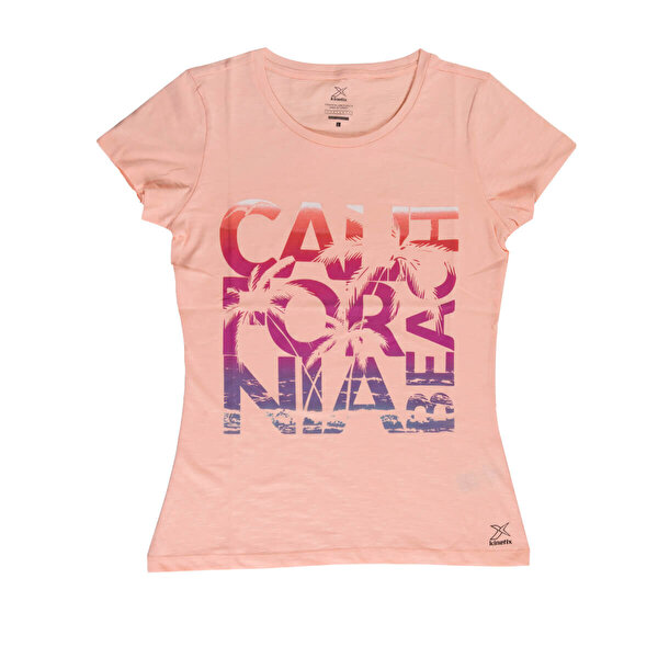 Kinetix JANE-2 T-SHIRT Somon Kadın T-Shirt