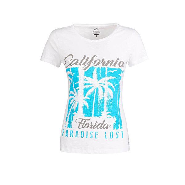 Kinetix JANE T-SHIRT Beyaz Kadın T-Shirt