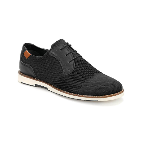 JJ-Stiller 377 Siyah Erkek Ayakkabı