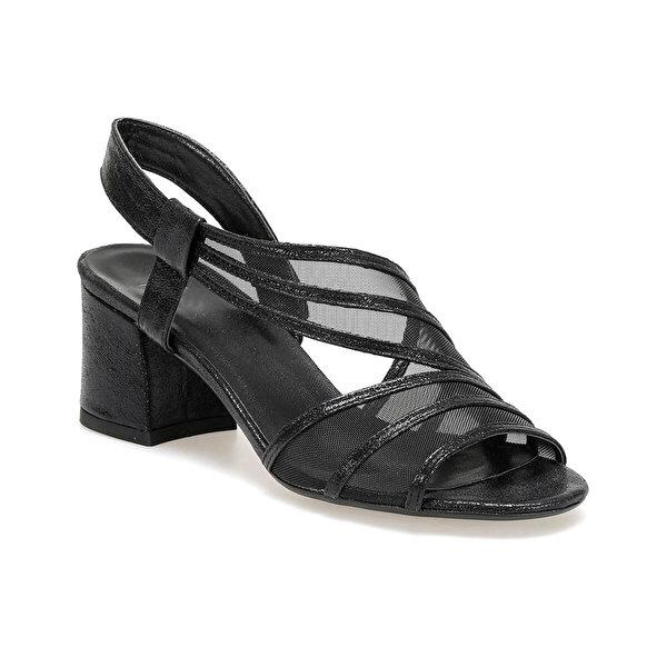 Butigo 19S-396 Siyah Kadın Topuklu Sandalet
