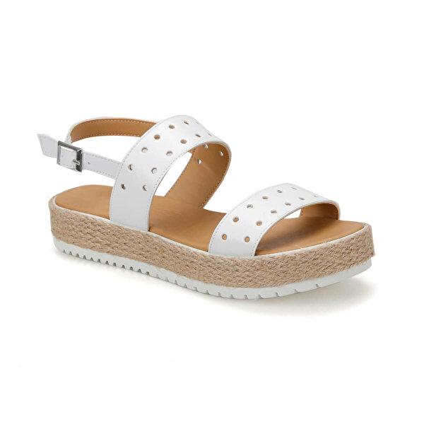 Art Bella CS19137 Beyaz Kadın Sandalet