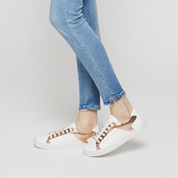 Art Bella CS19044 Bronz Kadın Sneaker Ayakkabı