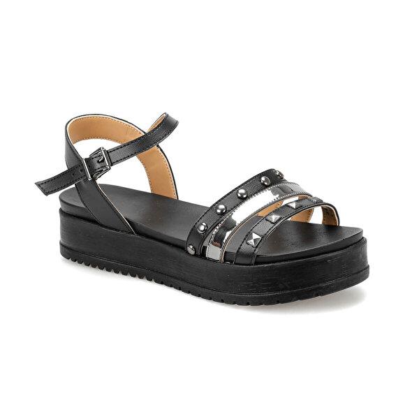 Butigo CS19119 Siyah Kadın Sandalet