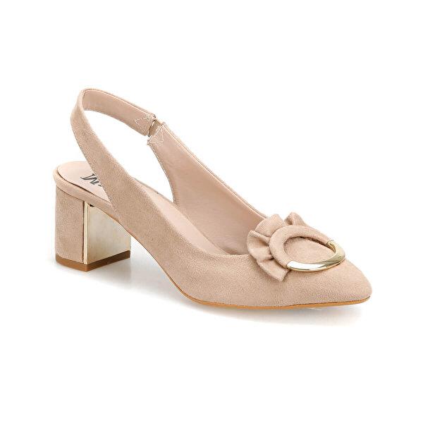 Butigo DS19076 Bej Kadın Gova Ayakkabı