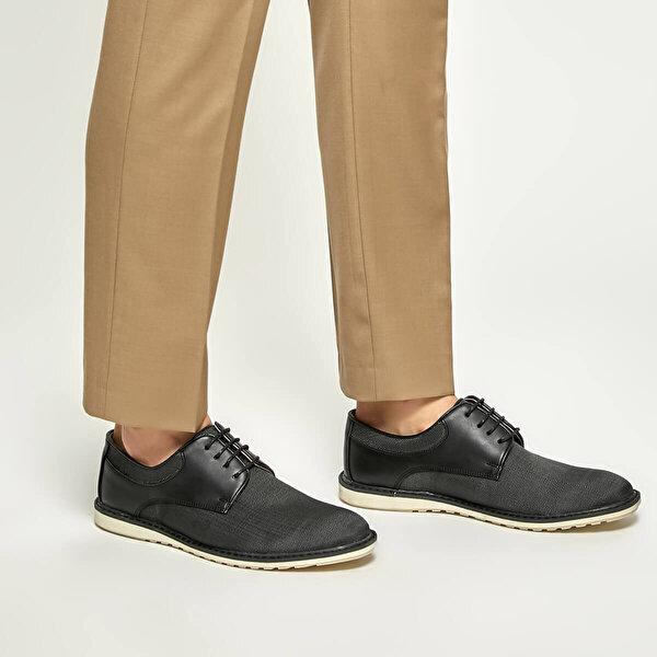 JJ-Stiller 5700-1 Siyah Erkek Ayakkabı