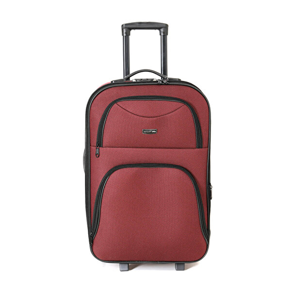 Travel Soft U KMR 6001-O Bordo Unisex Orta Valiz