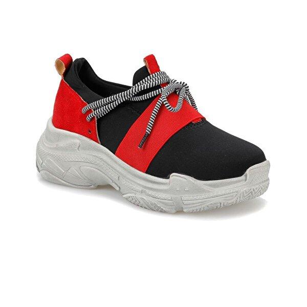 Butigo SNAP33Z SÜET Kırmızı Kadın Ayakkabı