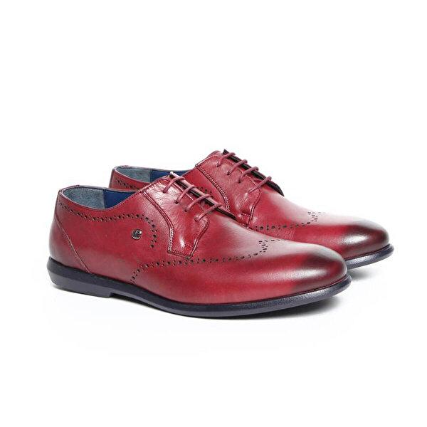Cacharel C8048D-5 Bordo Erkek Ayakkabı