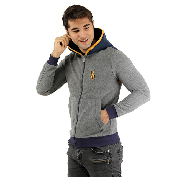 Phazz Brand 85017 SW Gri Erkek Sweatshirt