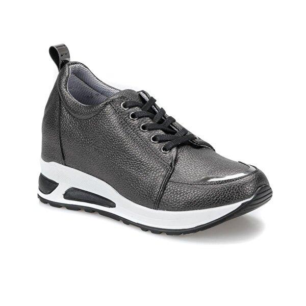 Butigo HAMO83Z CİLT Antrasit Kadın Ayakkabı