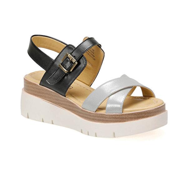 Butigo 19S-393 Siyah Kadın Sandalet