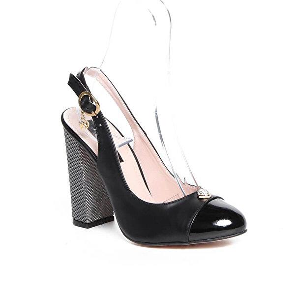 KUUM KZ1311-1 Siyah Kadın Ayakkabı
