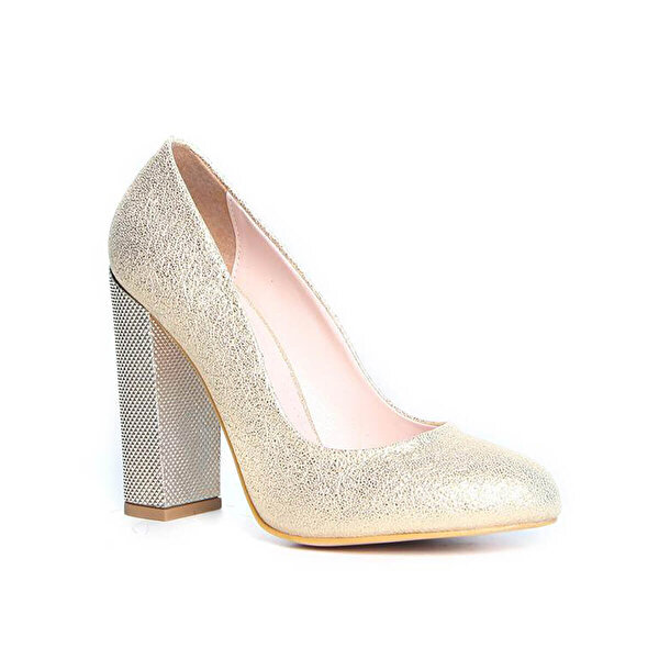 Kuum KZ1310-16 Altın Kadın Ayakkabı