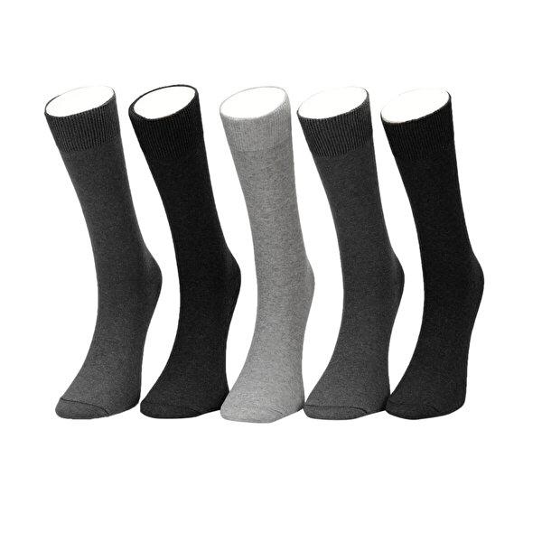 Garamond BASIC 5LI SKT-M Antrasit Erkek Soket Çorap