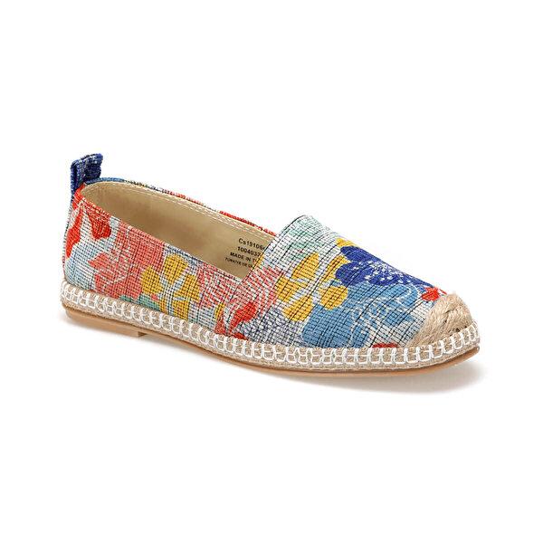 Art Bella CS19106M Çok Renkli Kadın Espadril Ayakkabı