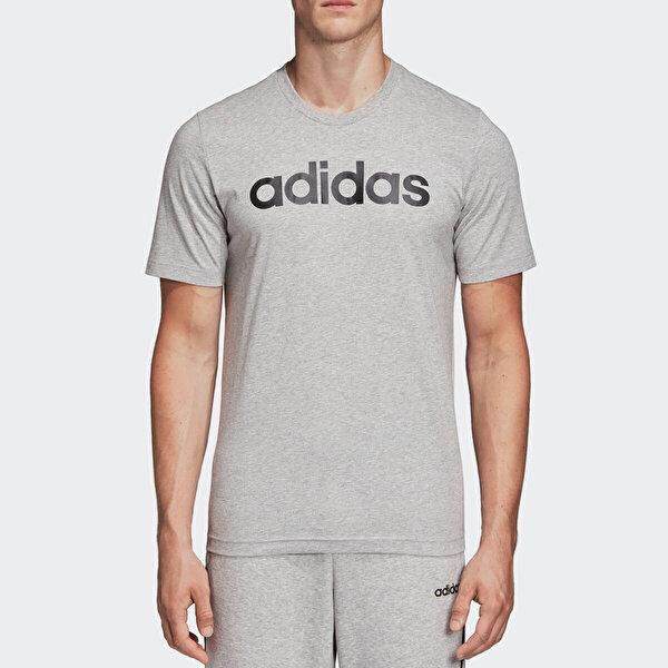 adidas E LIN TEE Gri Erkek Kısa Kol T-Shirt