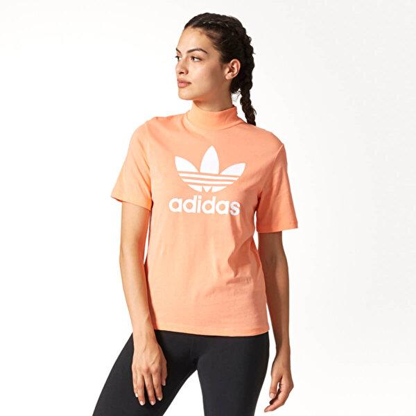 adidas HN TSHIRT LOGO Somon Kadın Kısa Kol T-Shirt