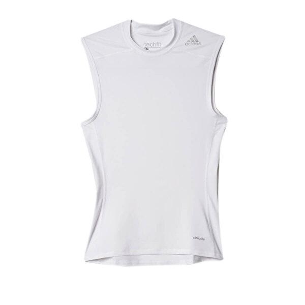 adidas BASE SL Beyaz Erkek Kolsuz T-Shirt