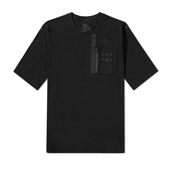 THE NORTH FACE M SHELT CHESTPOCKTEE TNF Siyah Erkek T-Shirt