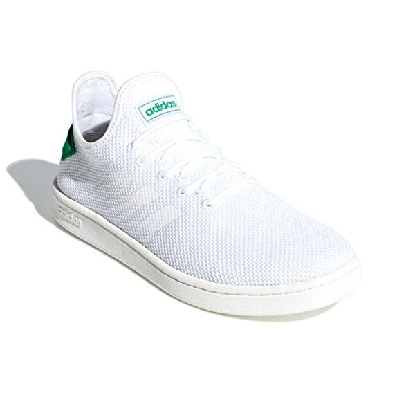 Adidas COURT ADAPT Beyaz Erkek Tenis Ayakkabısı